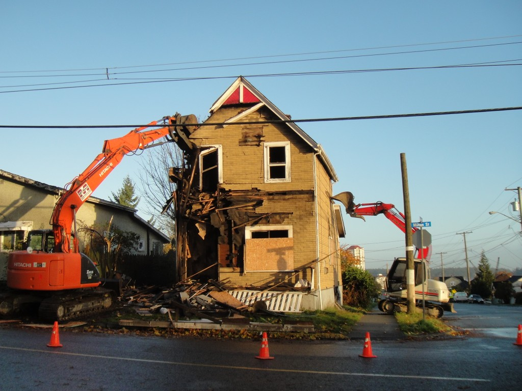 Milton Demo | M McNeil Contracting | Nanaimo | Duncan | Cowichan Valley | Vancouver Island | BC